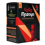 CocoMazaya Coconut Charcoal Cubes (24 Pieces)