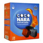 CocoNara Coconut Charcoal (120 Pieces)